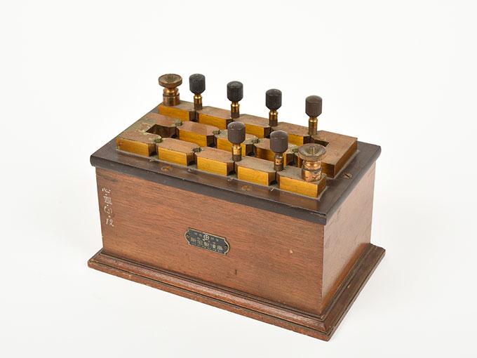 回路中継器抵抗箱 (1110Ω)3