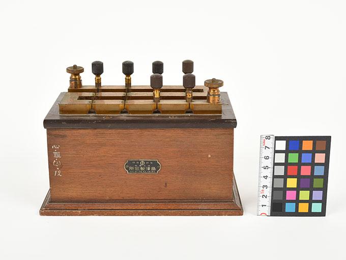 回路中継器抵抗箱 (1110Ω)4