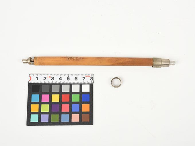 Schriftdruckregistrierer nach Schlag(部分)筆圧器(Instrument to register pressure applied while writing)Schrifutdruckregistrieren nach Schlag