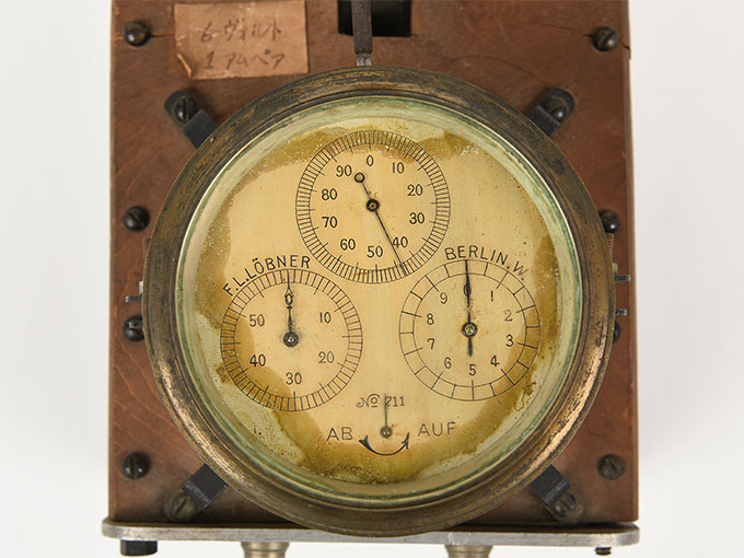 電磁SW付クロノスコープ9