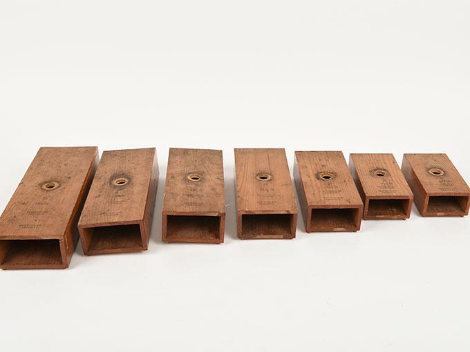 音叉(台のみ)Stimmgabel auf Resonator kasten für die Tonleiten c1-c2