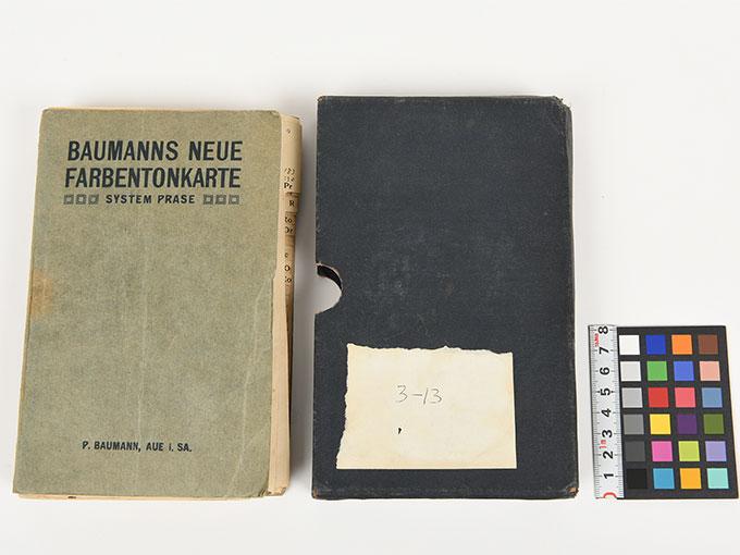 色見本Baumanns neue Fanbentonkarte (色調標本)