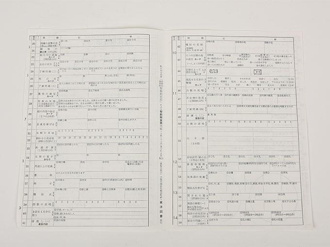 知能検査器鈴木ビネー式 個別・知能検査3