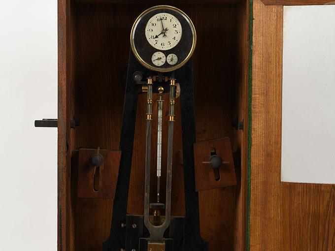 ニオーデの音叉時計Stimmgabeluhr nach Niaudetニオーデ氏音叉時計19