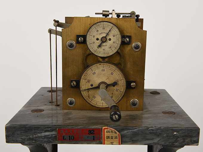ヒップのクロノスコープヒップ氏測時計9