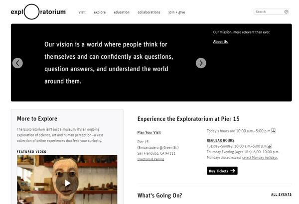Exploratorium (エクスプロラトリアム)
